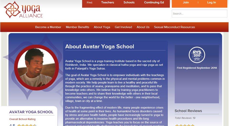 Avatar Yoga School Yoga Teacher Training In Rishikesh India